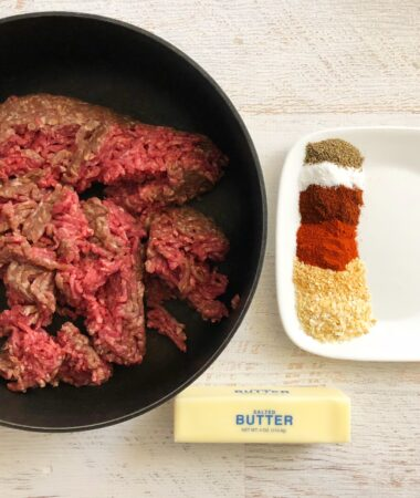 BBQ Beef and Butter Fast Recipe