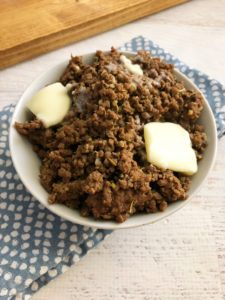 Greek Beef and Butter Fast Recipe