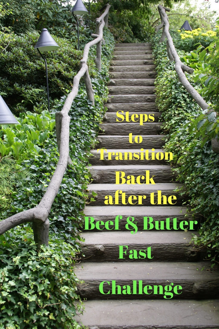 How to Transition Back to Keto after the Beef and Butter Fast Challenge